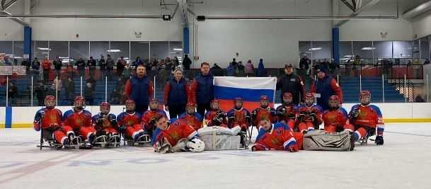 Детская сборная России по следж-хоккею привезла серебро с международного турнира в США