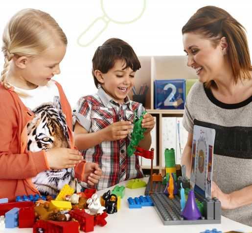 Учебно-методический комплект для раннего языкового развития детей от LEGO Education