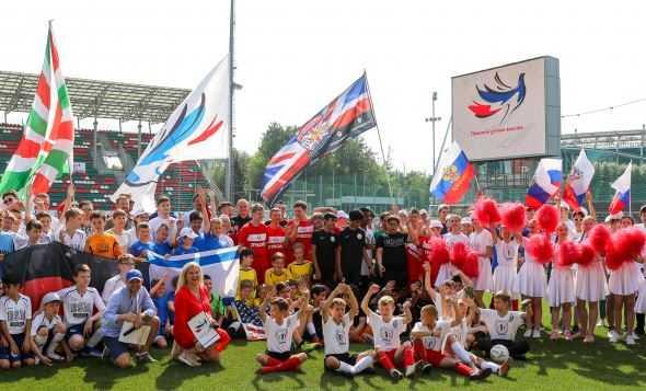 Дети с ДЦП примут участие в международном футбольном турнире «Кубок добра»