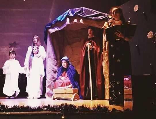 Спектакль «Поклонение пастухов» состоялся 7 января в антикафе «Циферблат»