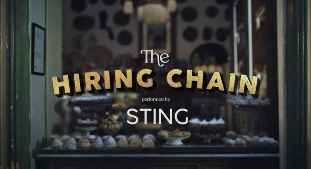 На Youtube-канале проекта CoorDown появился видеоролик, в котором Стинг спел песню Hiring Chain («Цепочка найма»).